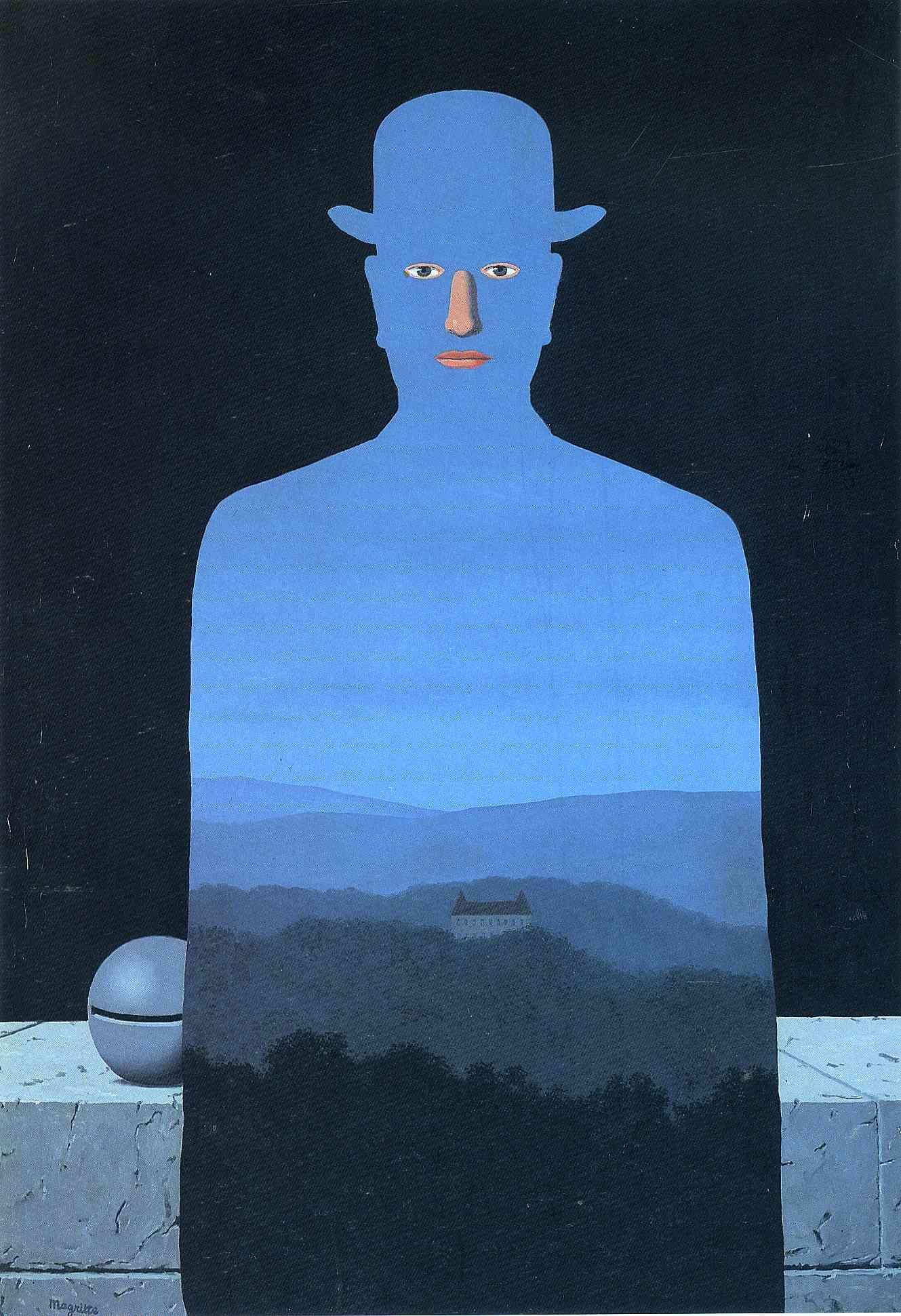 Blue - Rene Magritte -  Marthe-king-s-museum-1966(1)