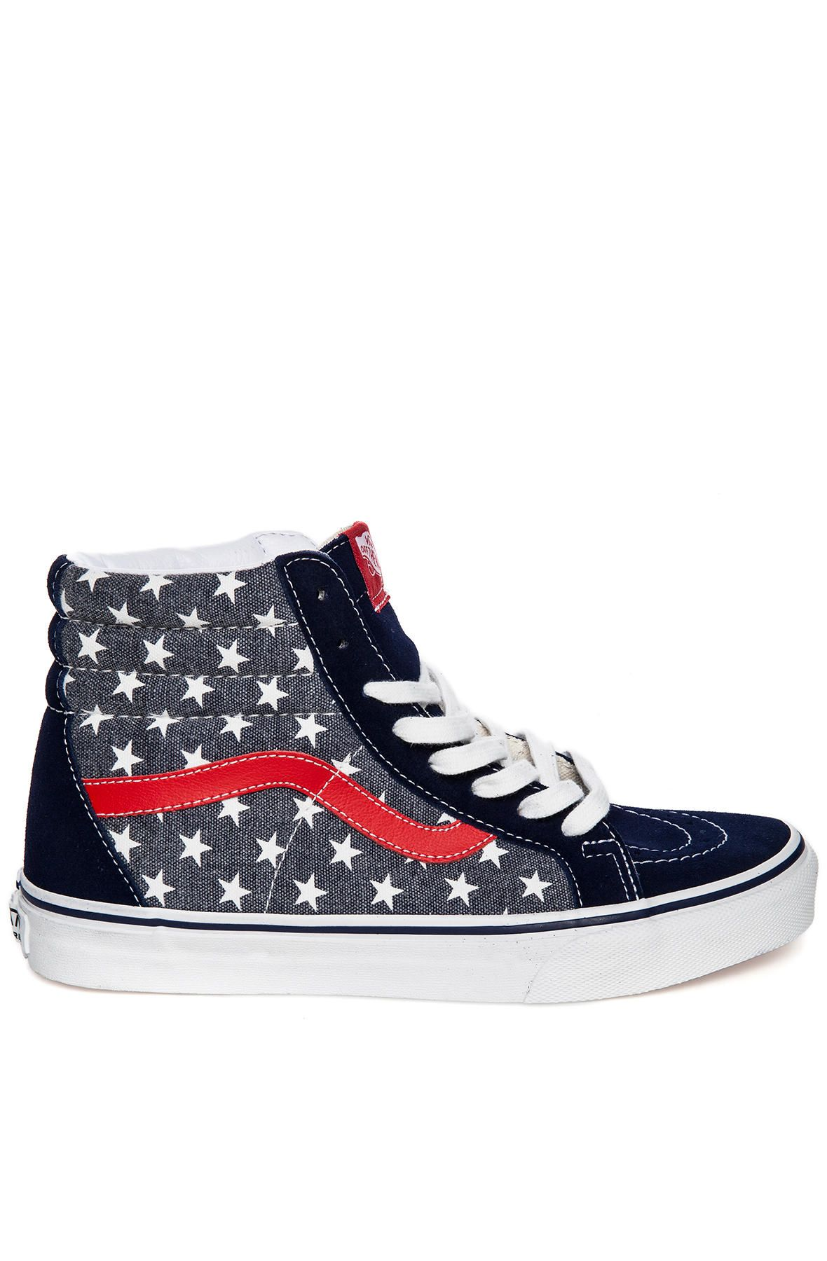 c83bb2044a6d The Sk8 Hi Reissue in Van Doren Stars and Stripes - By Vans - http ...