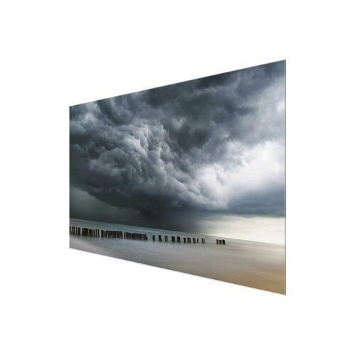 East Urban Home Glasbild Storm Clouds over the Baltic Sea | Wayfair.de #baltic