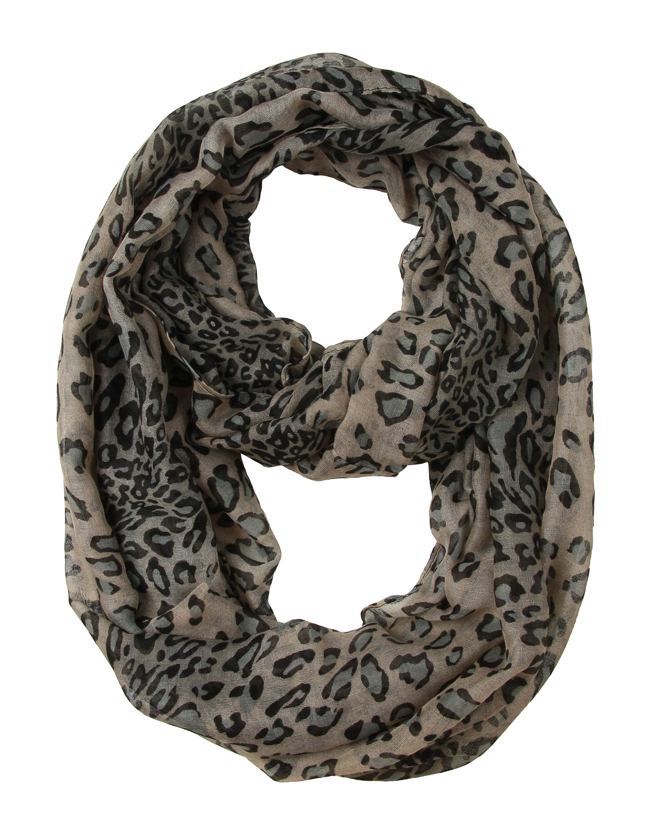 striped bliss grey gray french metallic necknots scarf by infinity products right