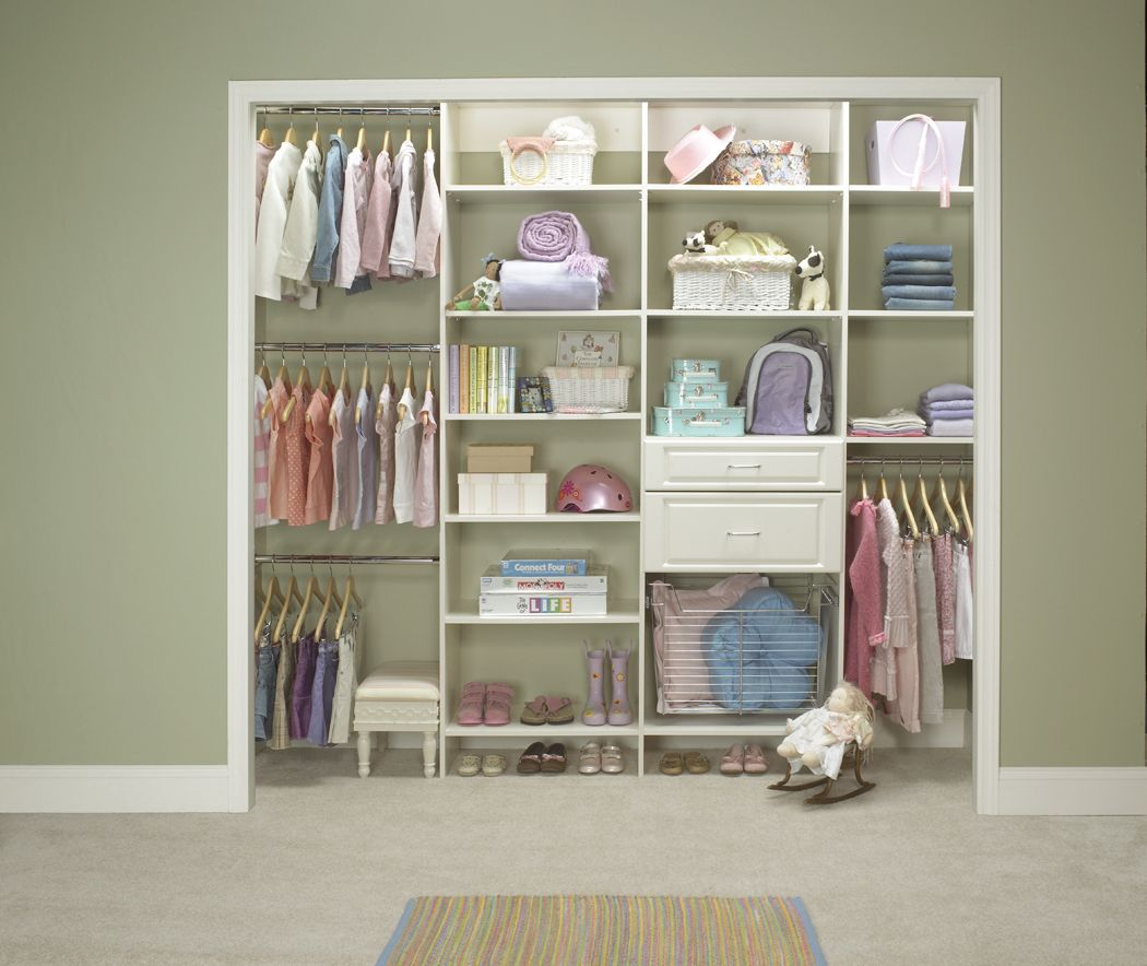 Rectangle Shelf Spaces For Kid Closet Would Hold Large Toys Or Buckets Little Pieces