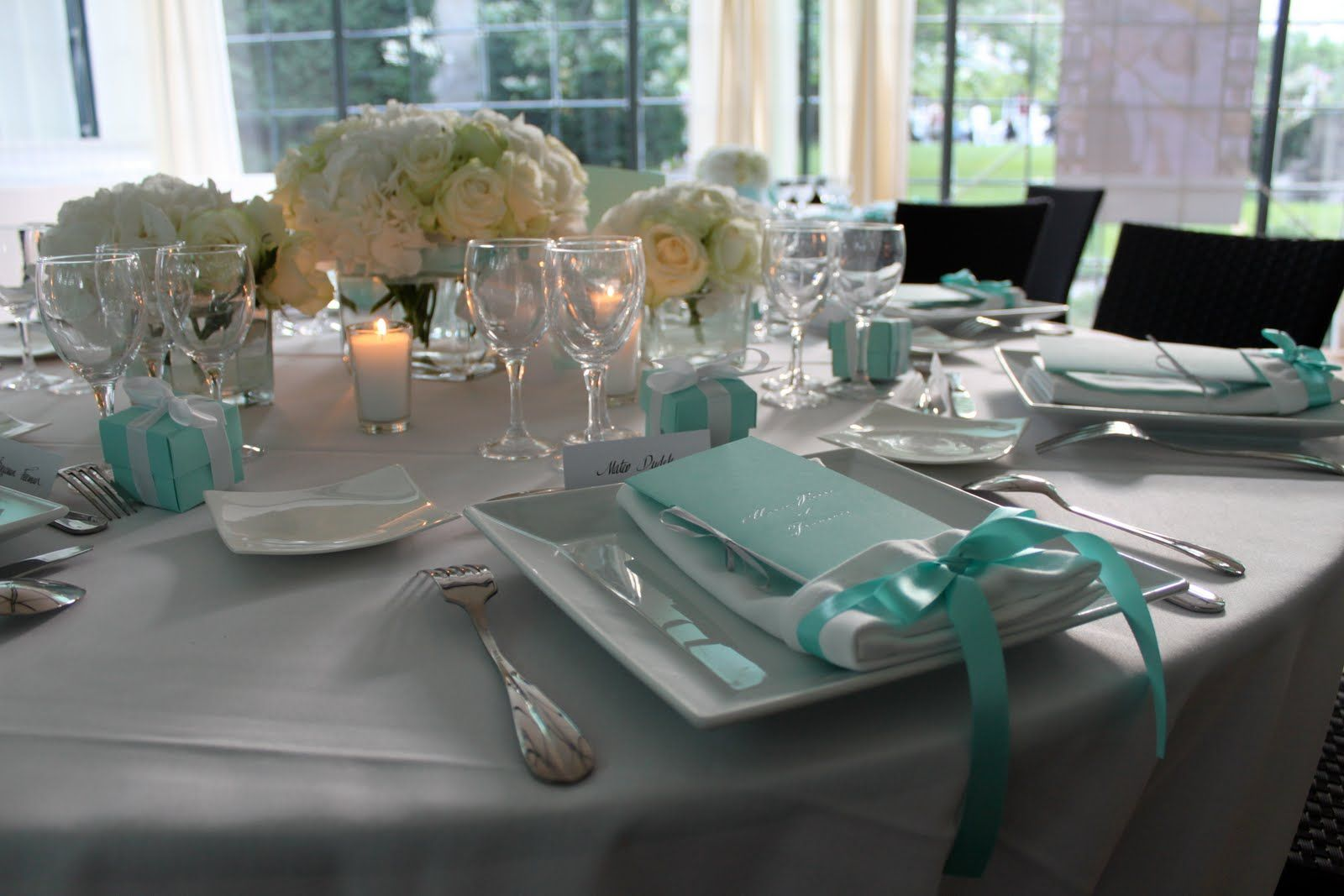 Tiffany Wedding Decorations Wedding Stuff Pinterest Tiffany