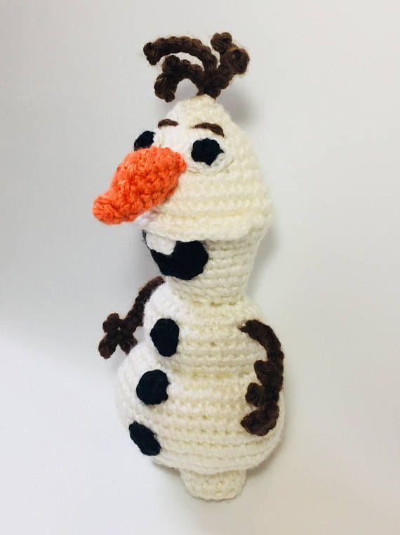 Frozen Olaf Crochet Pattern | Crochet Doll Patterns | Pinterest