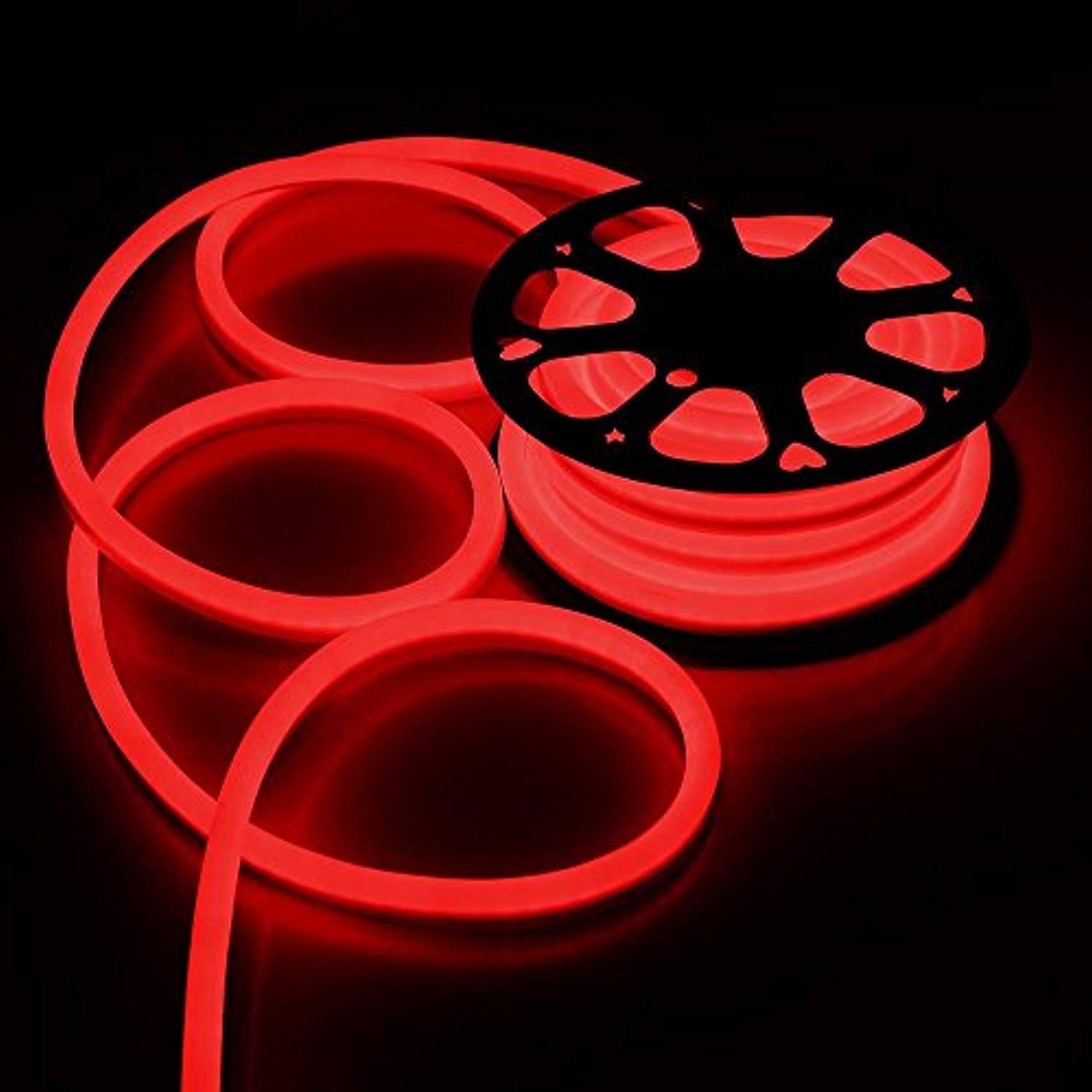 Red christmas strip light