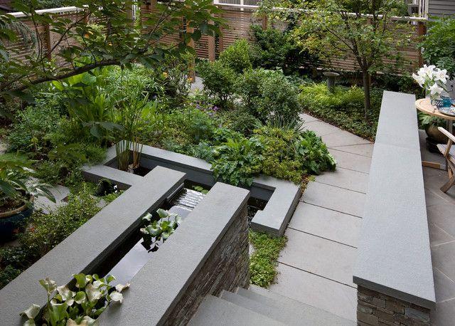 Beautiful modern urban landscape architecture design ideas ...