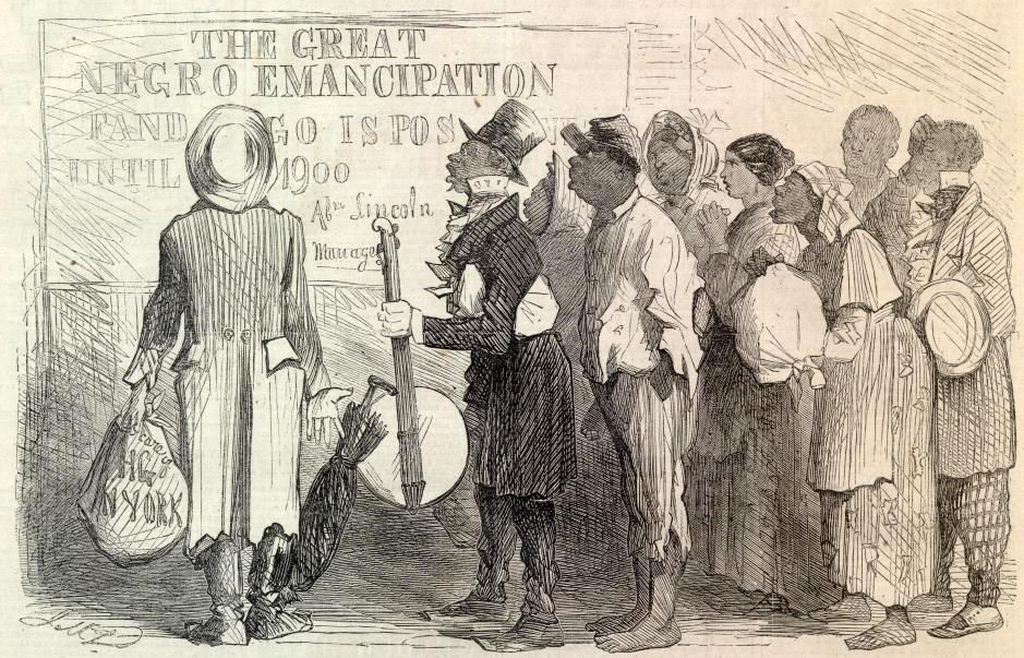 segregation white people and emancipation proclamation essay White americans did not expect blacks to participate in reconstruction-era  debates  to union lines in growing numbers and after the emancipation  proclamation,  if not, would separate schools for blacks and white have  legitimized segregation    1865-1917/essays/.
