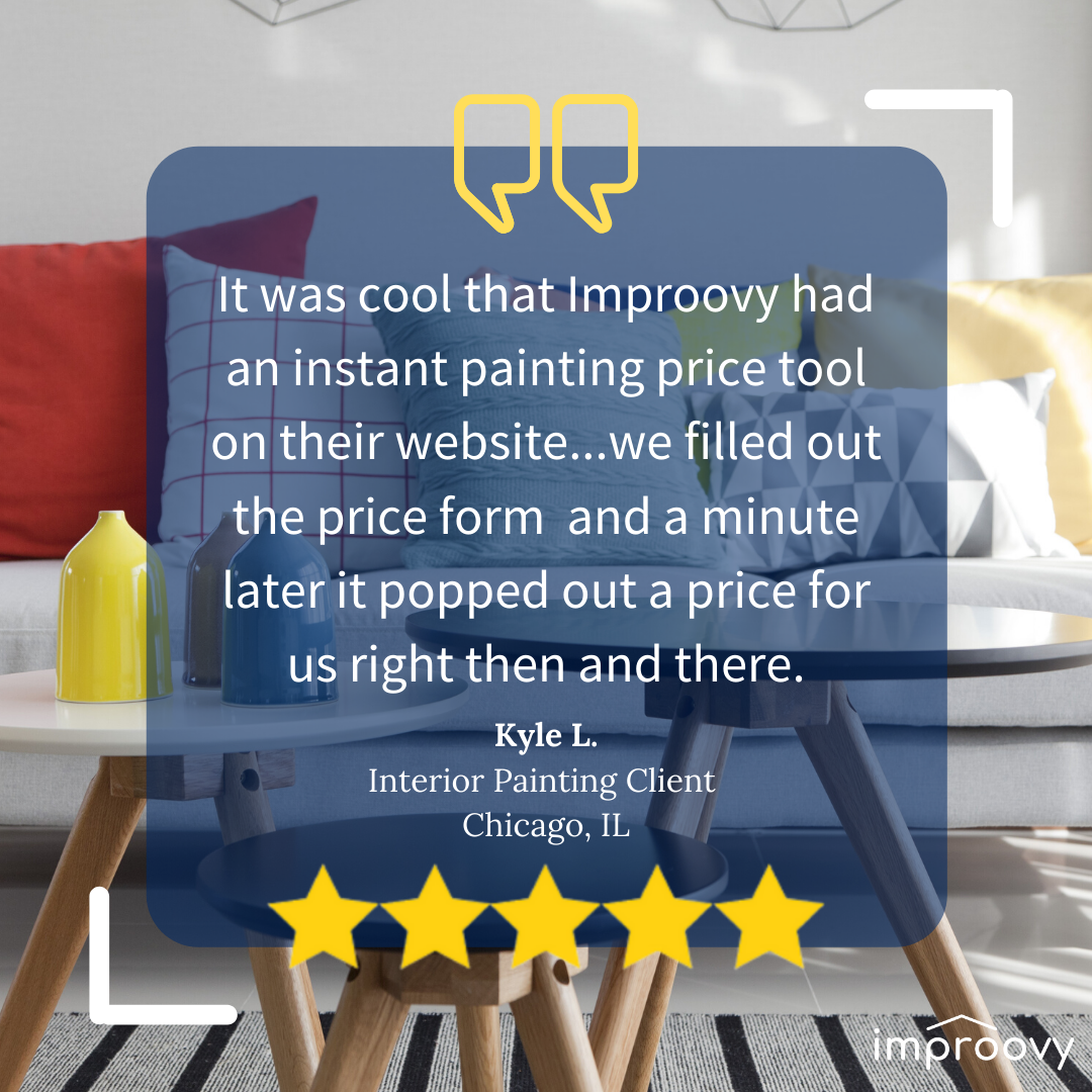 ⭐️Thanks Kyle L. for sharing you experience with us! It makes our day to see happy and satisfied clients!⭐️ . ⠀ #review #reviews #instareview #painting #chicagopainters #howyouhome #painting #instagood #homepainting #design #homerenovation #interiorpainting #interiorinspo #interiorstyling #myhousebeautiful #homedecor #interior #interiordesign #exterior #homeenvy #paint #paintingservices #home #homesweethome #homeinspo #reno #designsponge #decor #chicago #interiors
