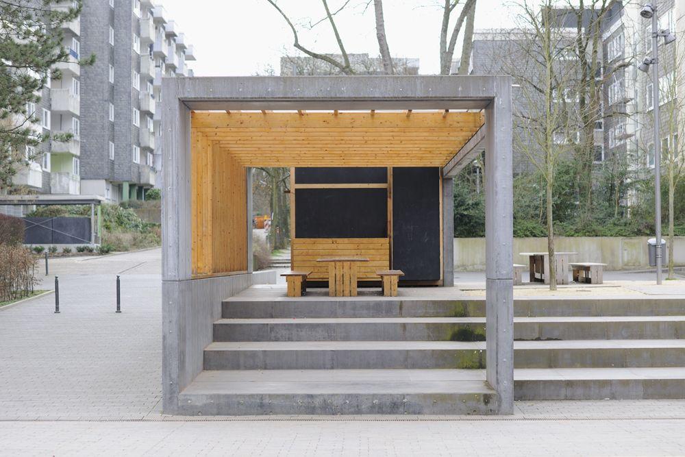 fileadmin content werke bochum pavillon aus holz b pavillon. Black Bedroom Furniture Sets. Home Design Ideas