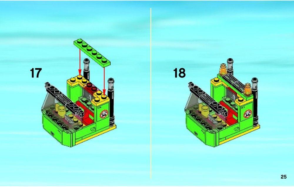 City Excavator Transporter Lego 4203 Lego Lego City Sets Lego City