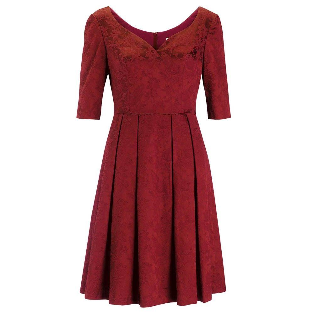 Christmas party dress? Lucinda Dress Red | Fever Designs
