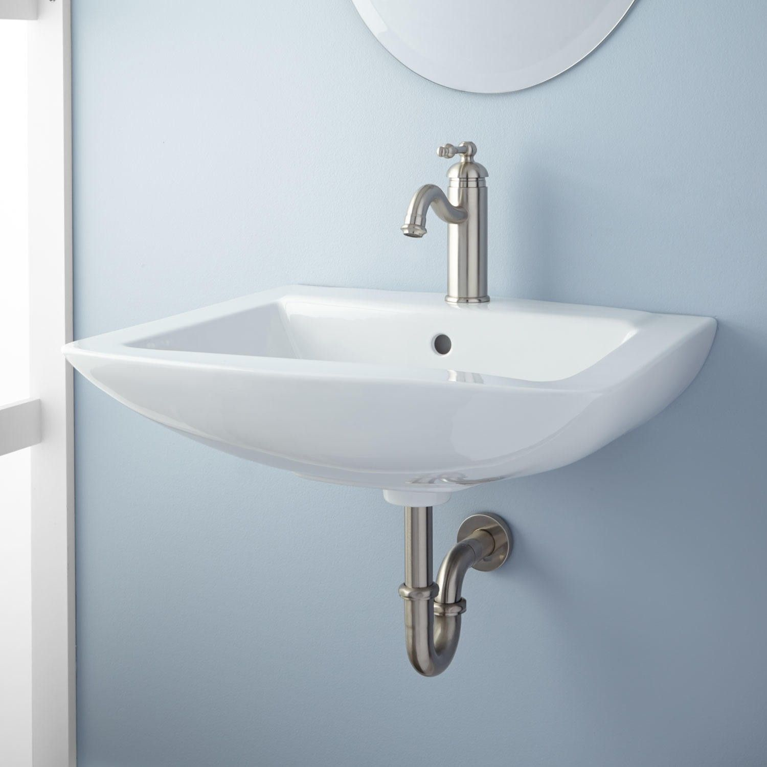 Darby Wall Mount Bathroom Sink With Images Bathroom Sink