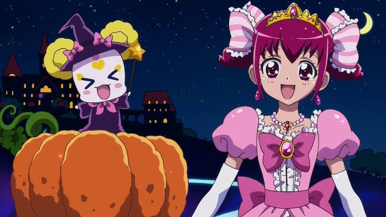 Candy miyuki hoshizora smile precure in cinderella