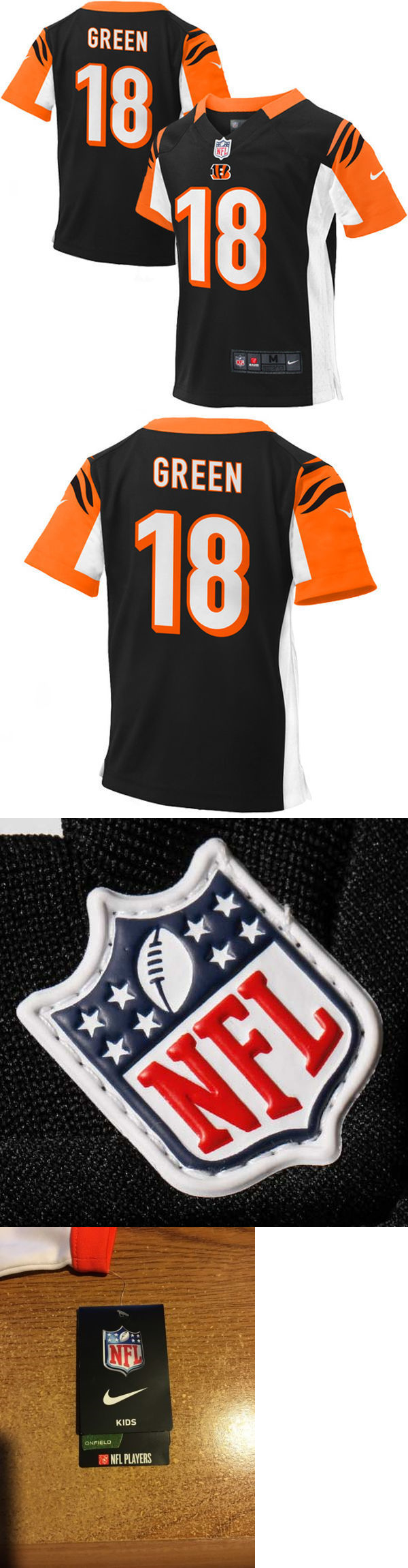 67a02731a45 ... promo code for youth 159111 nike aj green 18 cincinnati bengals nfl kids  onfield nfl players