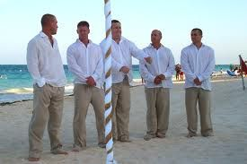 1000  images about Men's beach wedding attire on Pinterest