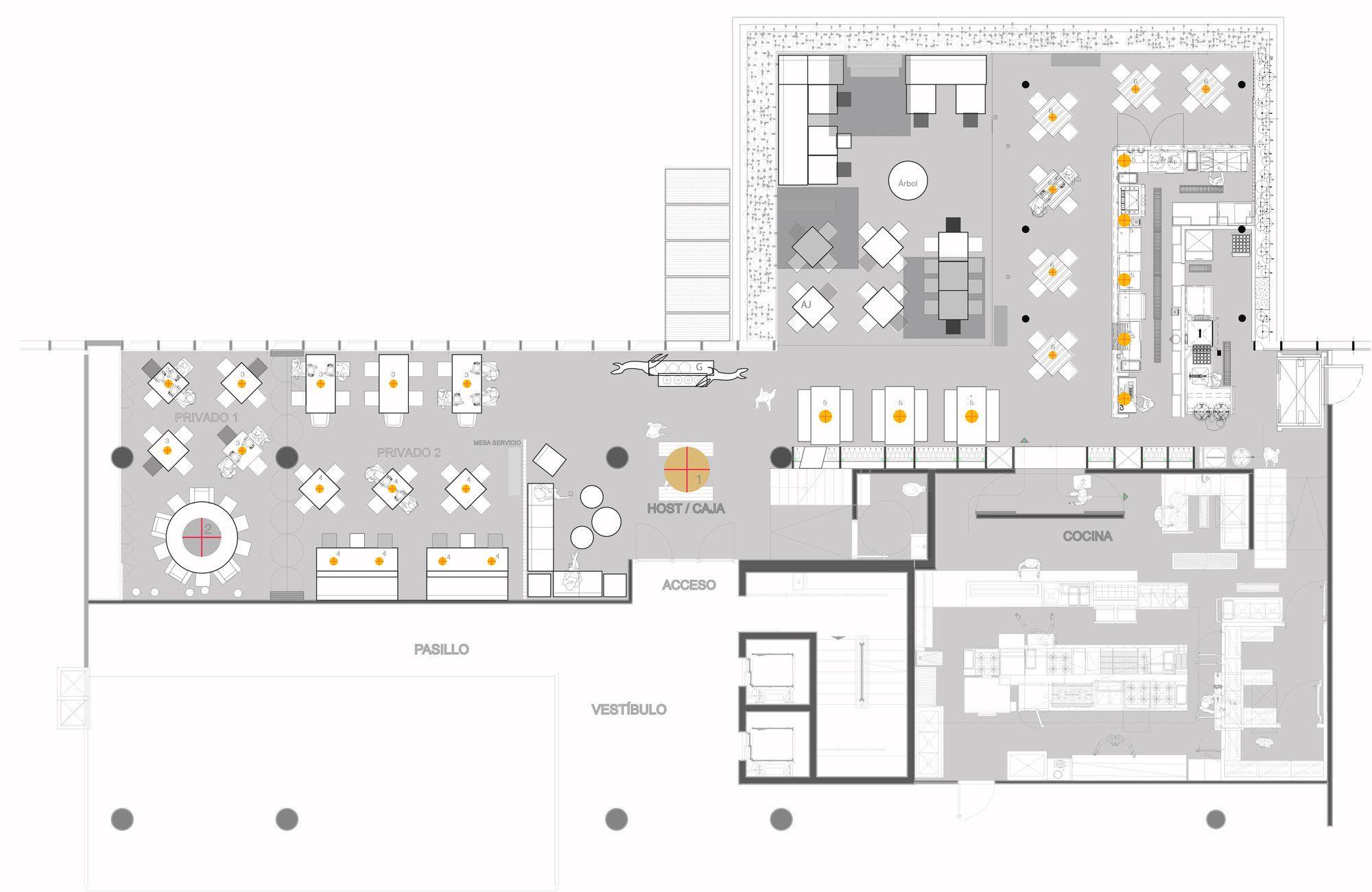 Galería - Asador Vasco / RootStudio - 19 | restaurantes | Pinterest