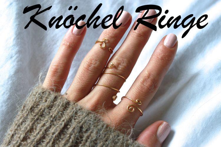 DIY: Ringe aus Draht   Diy ring, Goldschmuck und Draht
