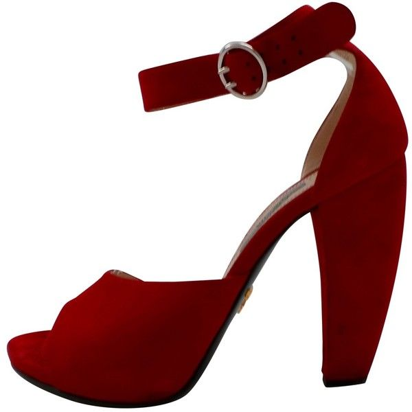 Pre-owned - Velvet heels Prada qr5eg