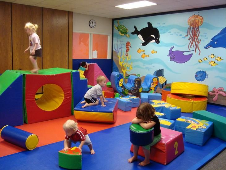 Neutral Playroom Play Areas