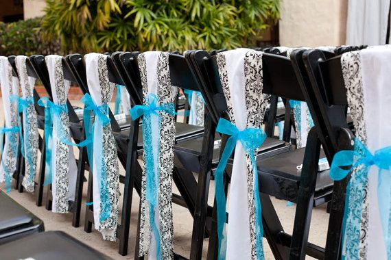 Aqua Blue And White Wedding Decorations Biosdingbee