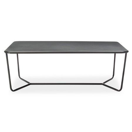 Outdoor Coffee Table Gray Modern By Dwell Magazine Target 129 Lr