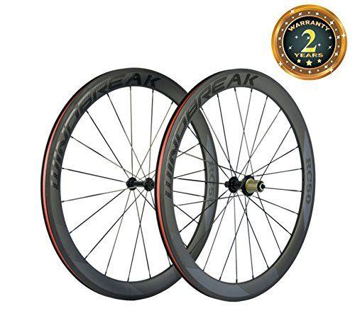 Sunrise Bike Carbon Road Wheels 700c 50mm Clincher Wheelset 3k