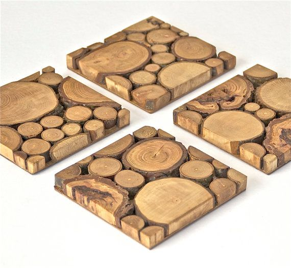 What a beautiful way to bring nature into the home! A modern look with the rustic feel. I love these! Made out of reclaimed NW woods, I hand