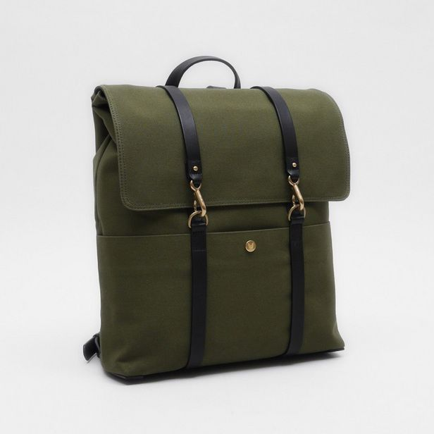 Mismo army green backpack