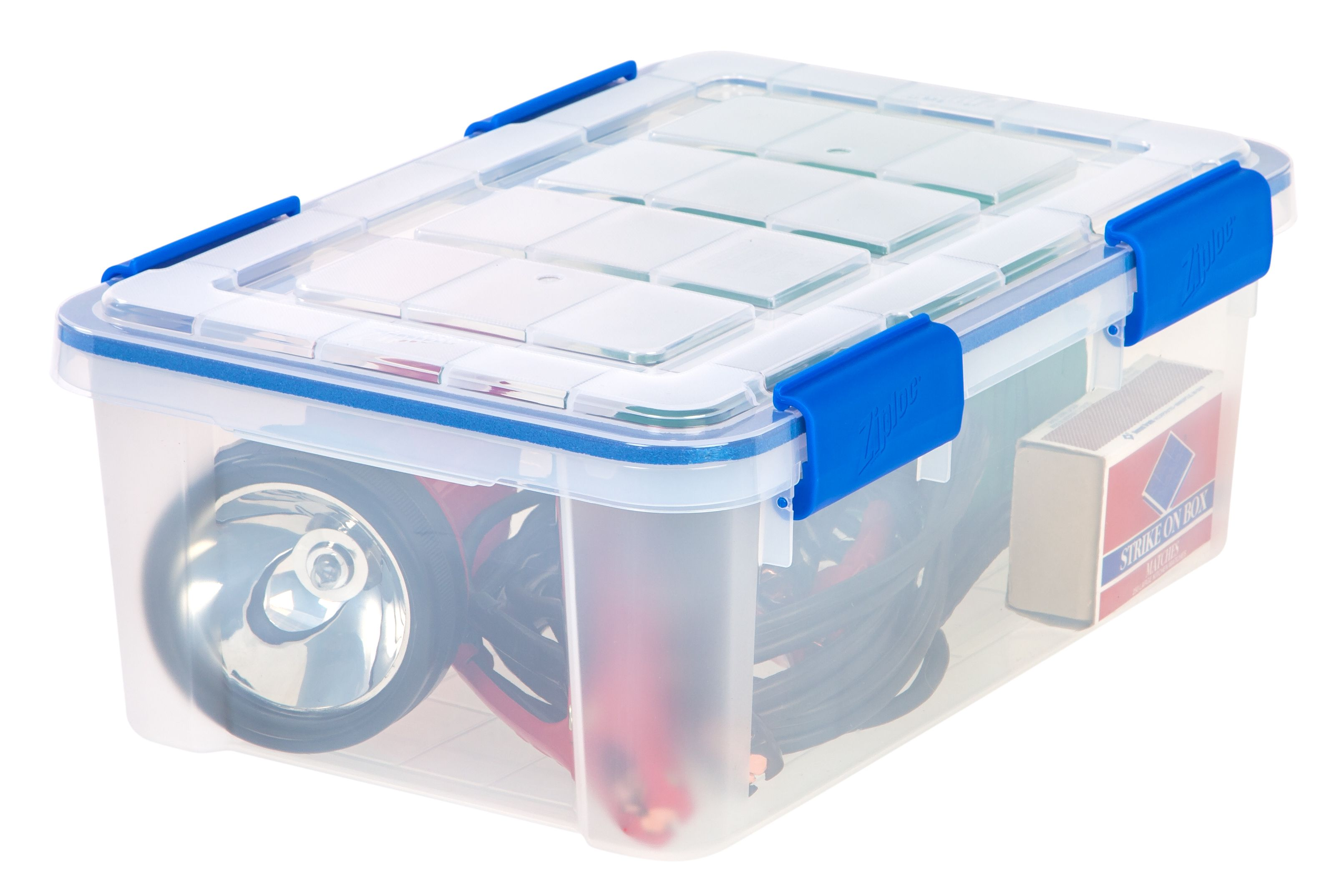 Free 2 Day Shipping On Qualified Orders Over 35 Buy Ziploc 16 Quart 4 Gallon Weathershield Storage Box Clear At Walmart Storage Box Weathershield Storage