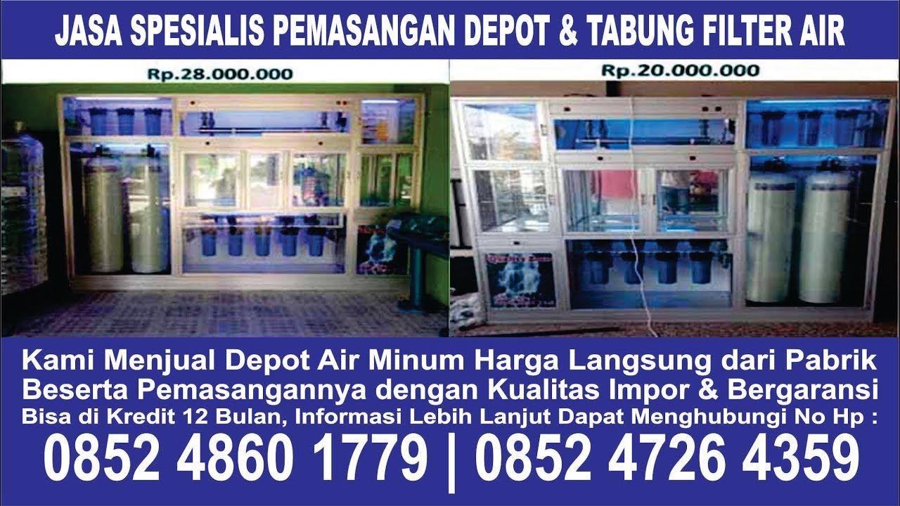 Distributor Harga Jual Mesin Pembuat Depot Filter Air Minum Isi