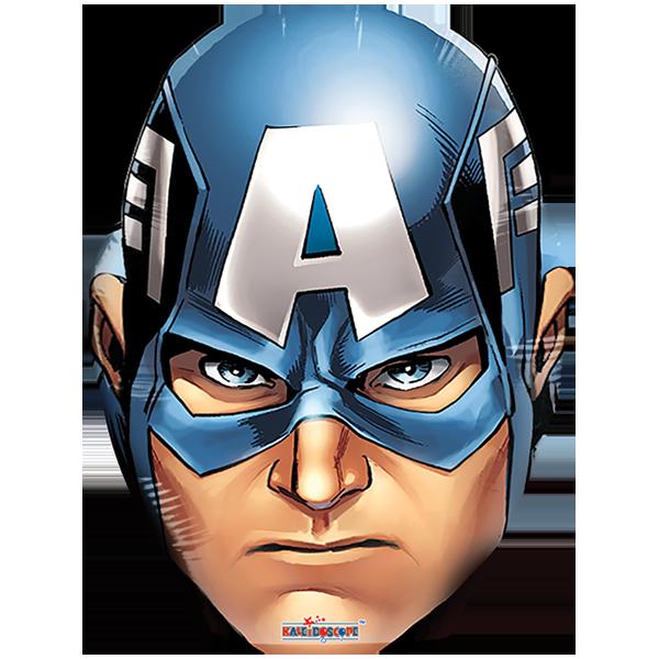 Everyday 2018 Cabeza De Capitan America 18 Mascaras De Super Heroe Imagenes De Capitan America Capitan America