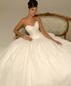 hollywood wedding dress