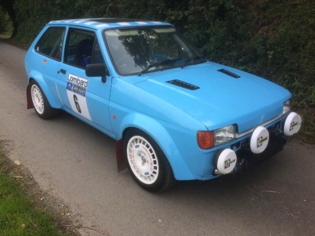 This Ford Fiesta Mk2 Rally Replica Rs Turbo Engine Px Swap Classic