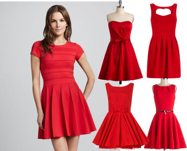 Red Dresses For Party