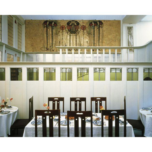 Wooden Panels Designed by Charles Rennie Mackintosh for Ingram