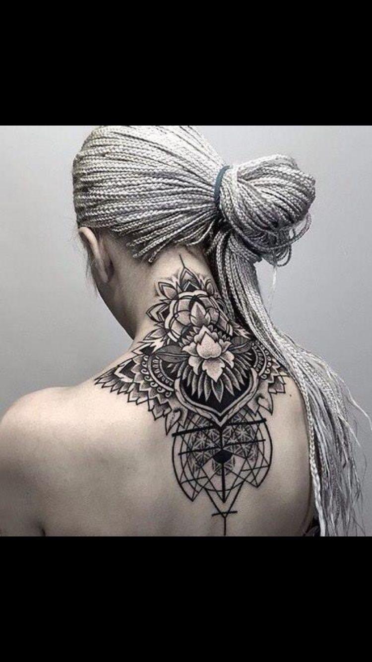 Box braid and tattoo heaven