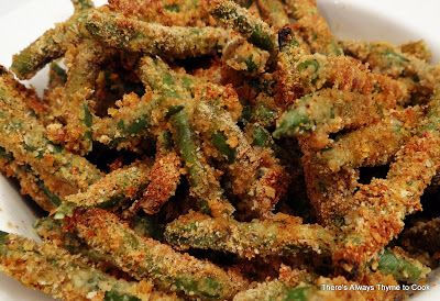 There's always thyme to cook...: Baked Green Bean Fries