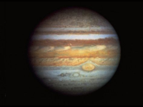 First True Color Photo Of Planet Jupiter Taken From Hubble Space