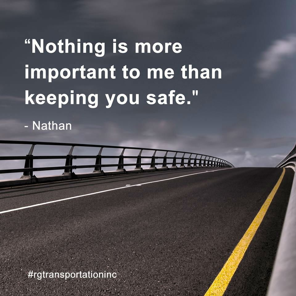 """""""Nothing is more important to me than keeping you safe"""