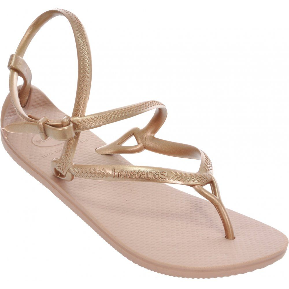 2331c645e51 Havaianas Grace Gladiator Flip Flop Sandals in Rose Gold
