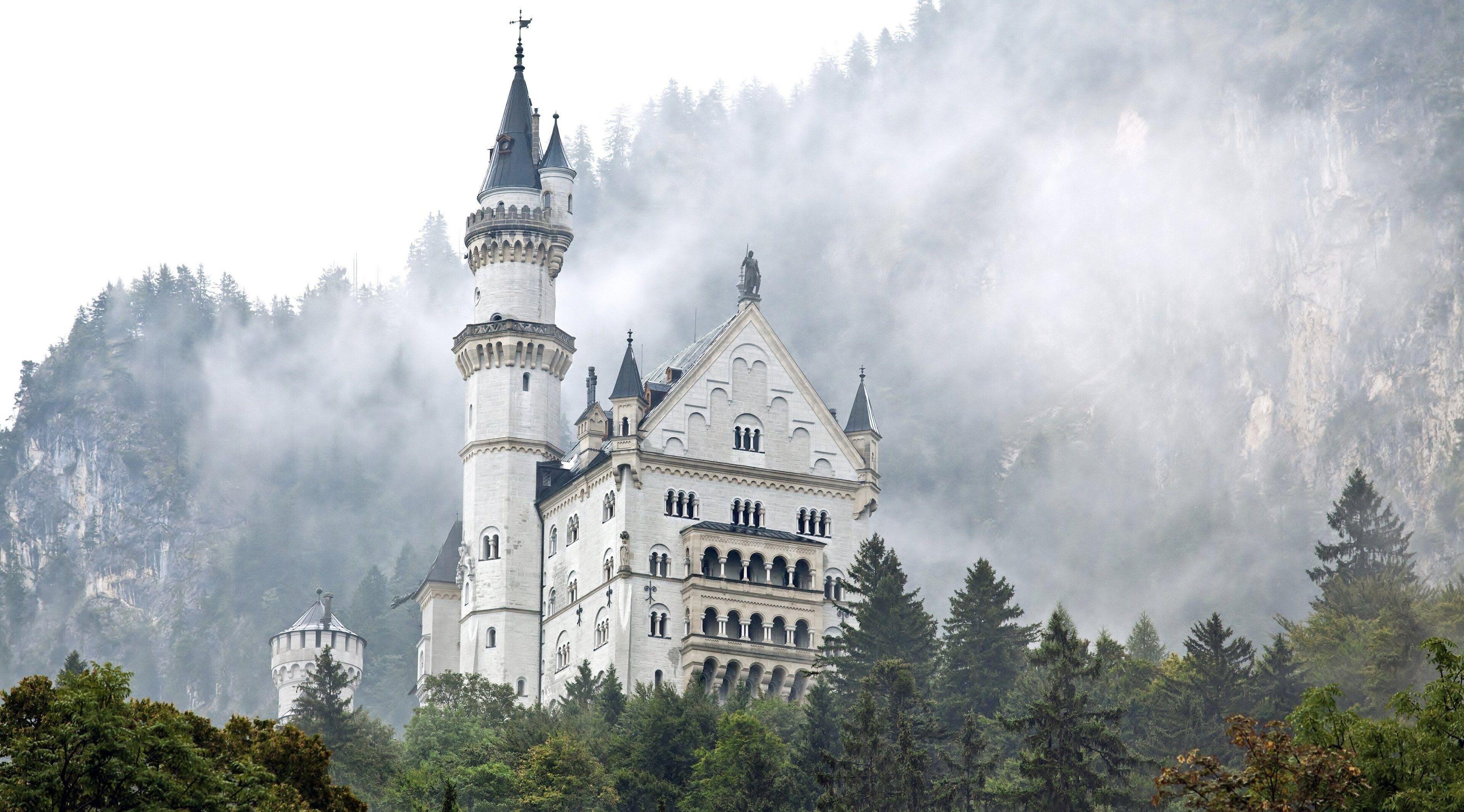3840x2130 Neuschwanstein Castle 4k New Pic Neuschwanstein Castle Castle Germany Castles
