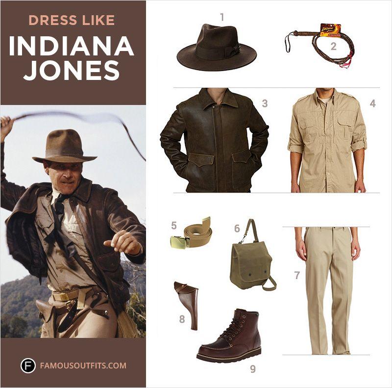 Indiana jones dress style