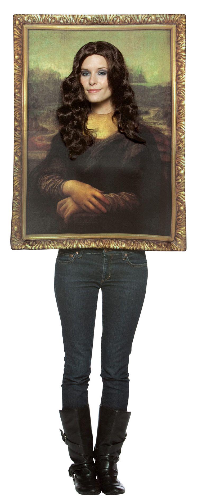Mona lisa gem lde kost m f r erwachsene dieses mona lisa gem lde kost m f r erwachsene besteht - Dekoration fur halloween ...