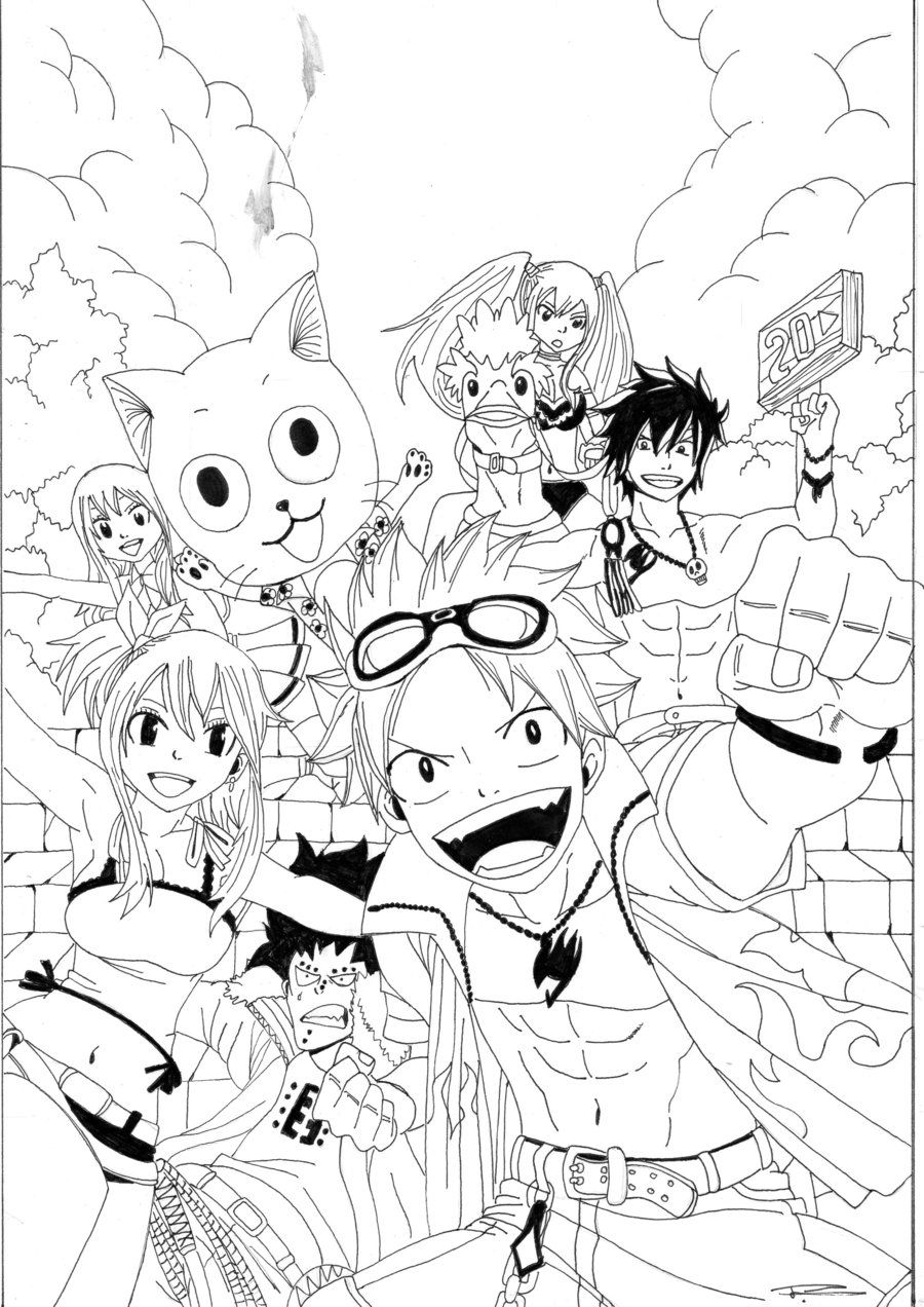 Fairy Tail Fantasia by Seky01