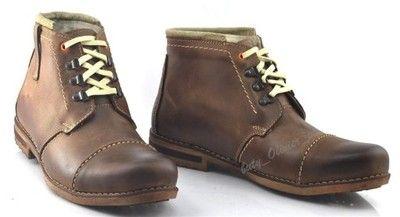 Zimowe Buty Meskie Skora 100 Ocieplane 120 Braz 6533868552 Oficjalne Archiwum Allegro Chukka Boots Boots Shoes