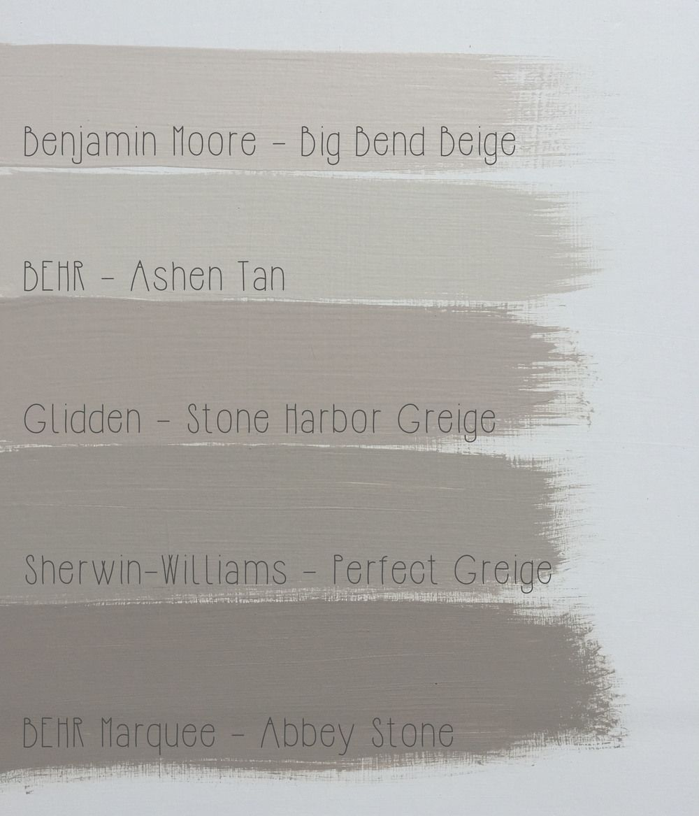 On The Hunt The Perfect Greige Paint Colors For Home