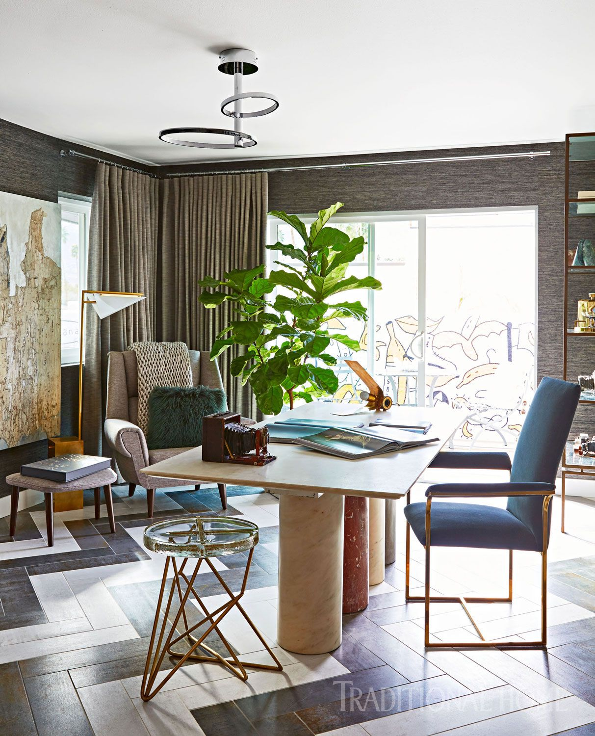 This is what a destination work space looks like for a contemporary ...