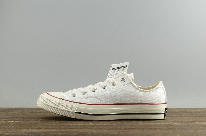 721c9fff3352 Fashion Unisex Converse Chuck Taylor All Star Usable 70 White Red Black  149448