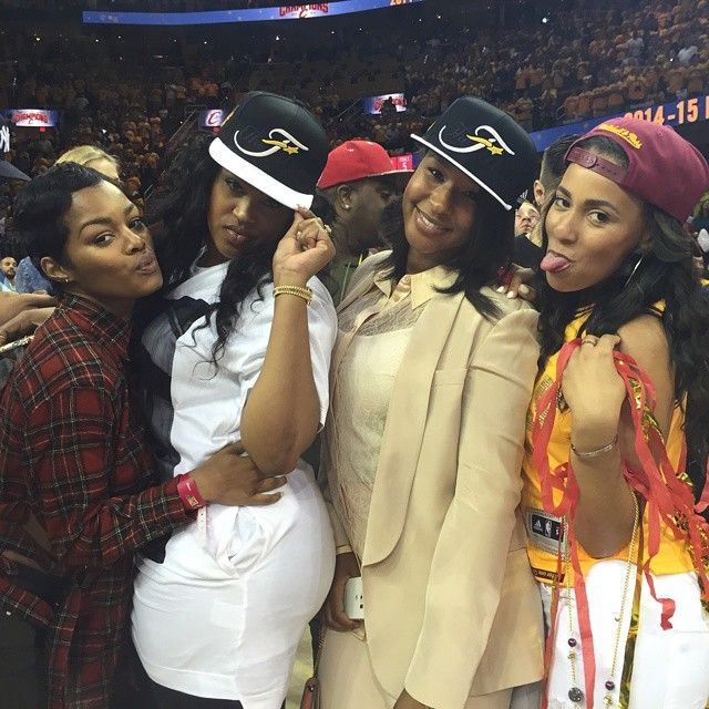 Hey ya'll!!! @vanityhearts3 @teyanataylor @Ashley #TheLand #AllIn #Cavs