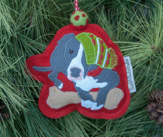pitbull christmas ornament pit bull tree by bestfriendsstudios