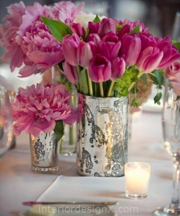 Home Decorating Ideas Glass Vases: Pink Vase Ideas Home Design Inside Pink Vase Ideas
